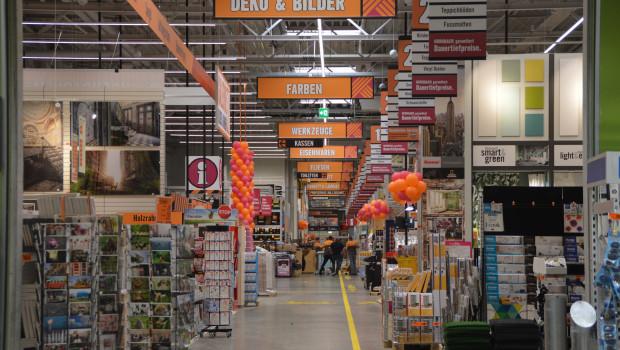 Baumarktgänge und der Gang in den Baumarkt - die Kunden schätzen es offenbar gerade im DIY-Bereich nach wie vor, wenn sie stationär einkaufen können.