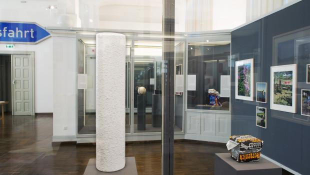 """Im Rahmen der deutsch-chinesischen Gemeinschaftsausstellung """"Unsichtbare Dinge"""" ist auch Erfurt-Raufaser  mit eingebunden."""