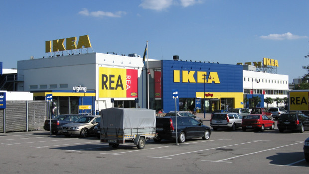 Der größte Ikea-Standort in Gwangmyeong, Süd-Korea.