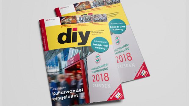 Die Kooperationen stehen im Fokus der aktuellen Augustausgabe von diy.
