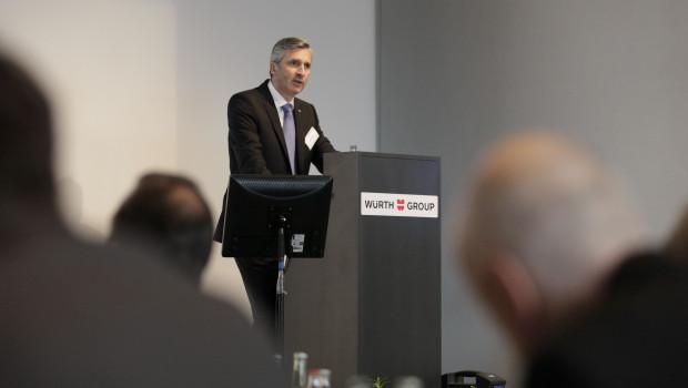 """""""Stagnation im Umsatz, Wachstum im Ergebnis"""": Robert Friedmann, Sprecher der Konzernführung der Würth-Gruppe über das Geschäftsjahr 2013."""