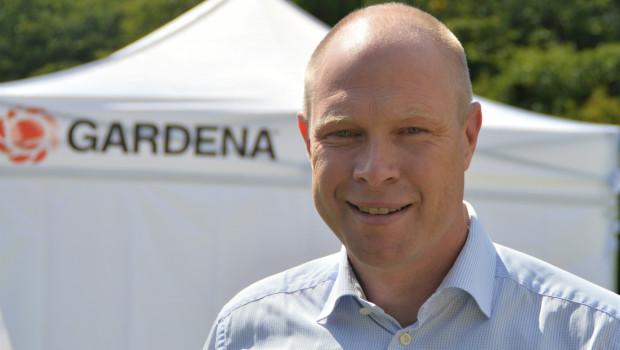 Gardena-Chef Pär Åström erläuterte auf einer Pressekonferenz neue Projekte des Unternehmens.