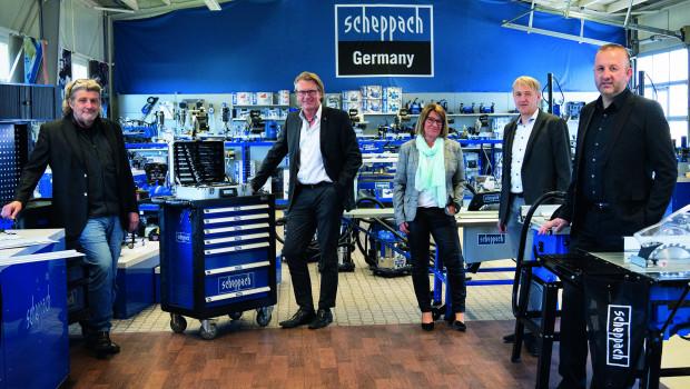 Ernst Pfaff (von links),Stephan W. Müller,Inge Hofmann,WolfgangSchedel undSerdar Eraslanblicken optimistisch in die Zukunft.