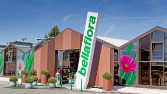 Bellaflora mit neuem Zustell-Service und Raumgrün-Konzept