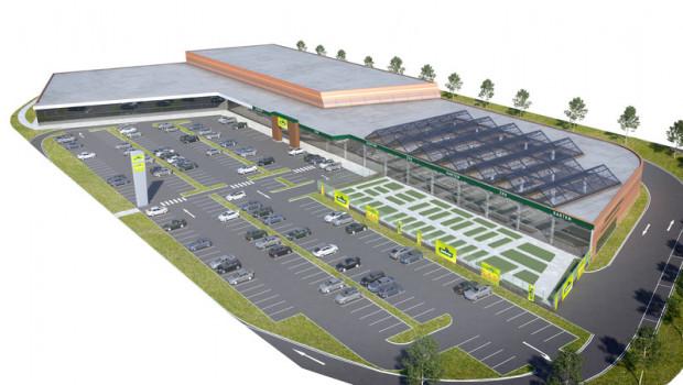 Die Planung steht, die Realisierung muss aber verschoben werden: Der Dehner-Standort im Shopping Resort G3 kann erst 2022 an den Start gehen.