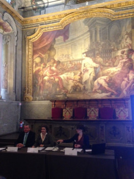 Die Koelnmesse hielt ihre Pressekonferenz zur nächstjährigen Internationalen Eisenwarenmesse in Köln gestern in Mailand im Museo Nazionale della Scienza e della Tecnologia Leonardo da Vinci ab.