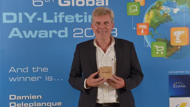 Gestern Abend erhielt Damien Deleplanque den sechsten Global DIY Lifetime Award.