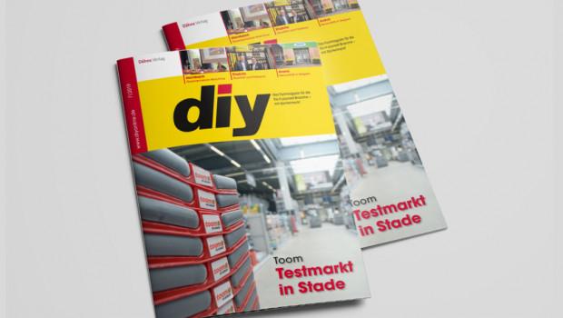 diy 7/2019 ist jetzt mit einem breiten Themenspektrum erschienen.