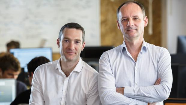Philippe de Chanville (links) und Christian Raisson sind Gründer des Unternehmens.
