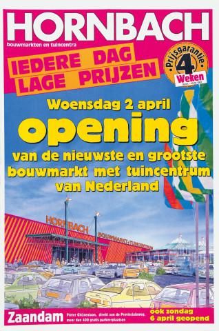 Hornbach, Werbung, Markt in Zaandam