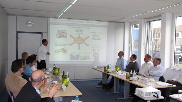 Klaus Peter Teipel war einer der extern hinzugezogenen Referenten beim ersten Treffen des IVG-Arbeitskreises Systemhandel.