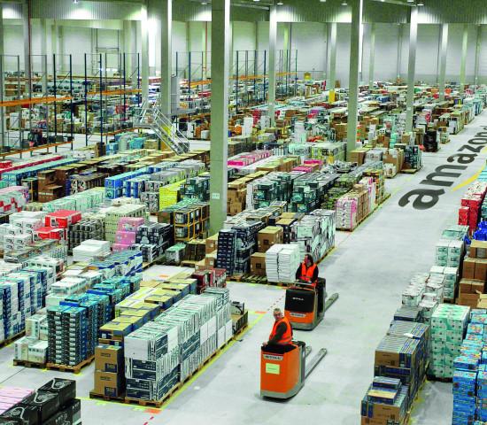 Leipziger Logistikzentrum von Amazon