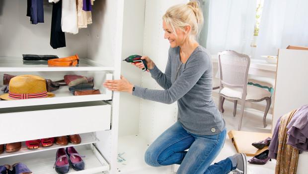Ein Viertel der Frauen in Deutschland greift regelmäßig zum Werkzeug, um etwas zu reparieren oder zu bauen. Foto: Bosch