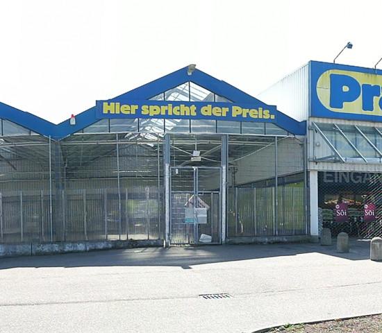Front Praktiker-Markt in Bruchsal-Heidelsheim