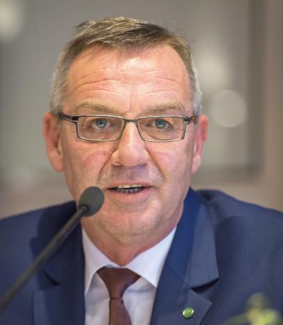 Gärtnerpräsident Jürgen Mertz