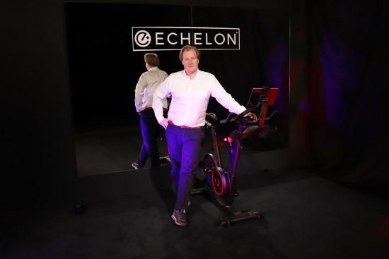 """Robin Broszio: """"Wir gehen das Zukunftsfeld Wellness und Fitness mit dem eigenständigen Unternehmen Echelon Fit an."""" """