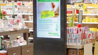 Die Freizeitmärkte von Knauber führen Digital Signage ein
