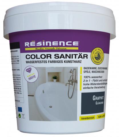 Color Sanitär ermöglicht es Heimwerkern, Bäder in einer neuen Farbe erstrahlen zu lassen.