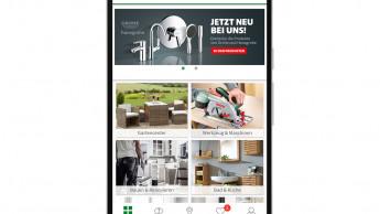 Für hagebau.de gibt es jetzt eine eigene App