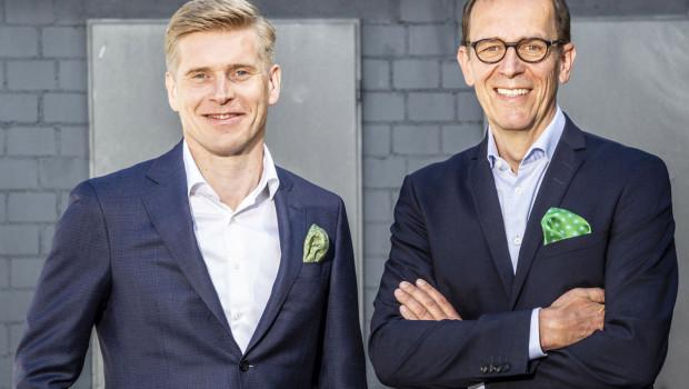 Horst Gabrecht (r.) verlässt Metabo; sein Nachfolger wird Henning Jansen (l.).
