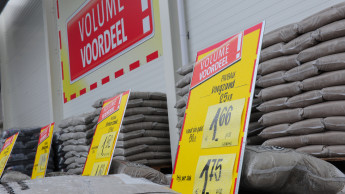 Baumärkte in den Niederlanden legen um 22,1 Prozent zu
