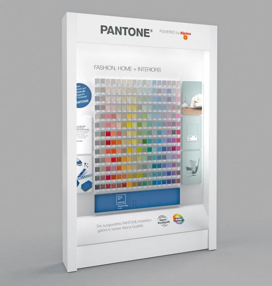 Pantone-Design, POS-Präsentation