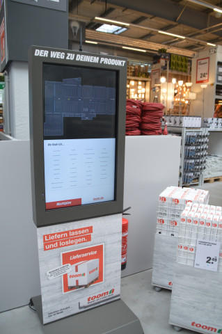Für die Kundenberatung stehen separate Büros zur Verfügung.