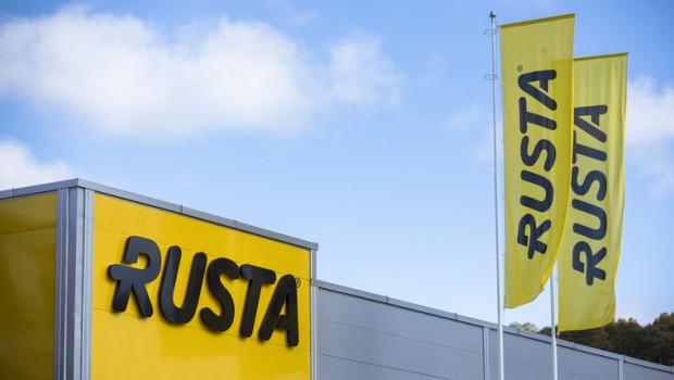 Rusta hat mehr als 170 Filialen Schweden, Norwegen, Finnland und Deutschland.