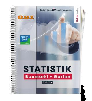 Die Statistik Baumarkt + Garten D-A-CH 2020 erscheint Ende Mai.