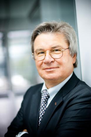 Prof. Klaus Fischer, Inhaber und Vorsitzender der Geschäftsführung der Unternehmensgruppe Fischer