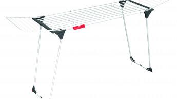 Ausziehbarer Wäscheständer, ideal für viel Wäsche
