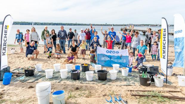 In einer Kooperation mit dem Verein One Earth One Ocean werden an der deutschen Nord- und Ostseeküste Strandreinigungen durchgeführt.