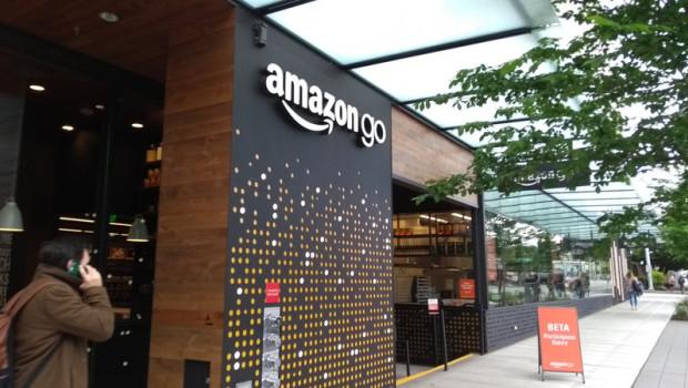Amazon Go-Store in Seattle.