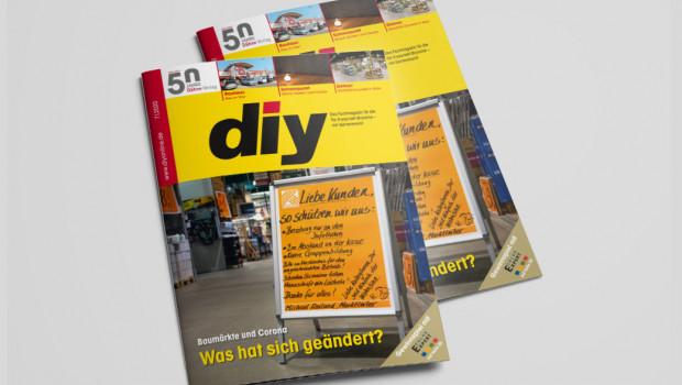 Die Juli-Ausgabe des Fachmagazins diy ist jetzt erschienen.