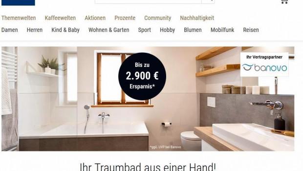 Das Münchener Startup für Badsanierungen, Banovo, kooperiert in den kommenden Wochen mit dem Hamburger Handelsunternehmen Tchibo.