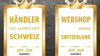 Hornbach und Landi sind schweizweit Spitze
