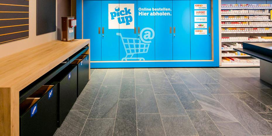 Coop Bau + Hobby. Pick-up-Station