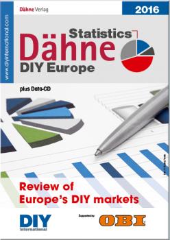 Die Dähne Statistics DIY Europe sind in ihrer aktuellen Ausgabe mit einem erweiterten Text- und Zahlenteil erschienen.