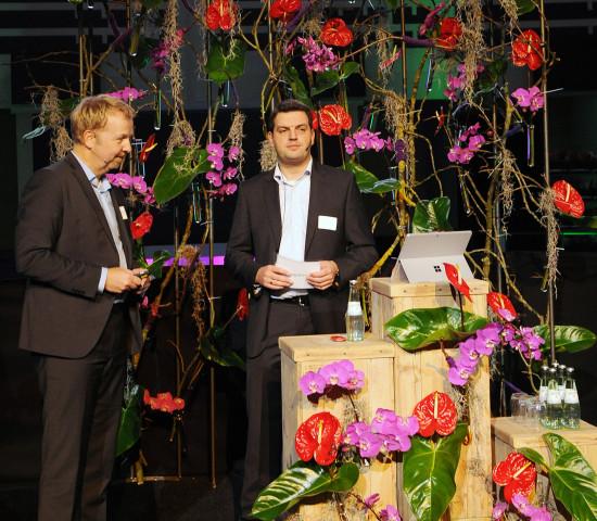 Mehr als 400 Gäste begrüßten die neuen Geschäftsführer Uwe Bedenbecker (l.) und Marc Schax auf dem Kunden- und Ausstellertag zu Jahresbeginn.