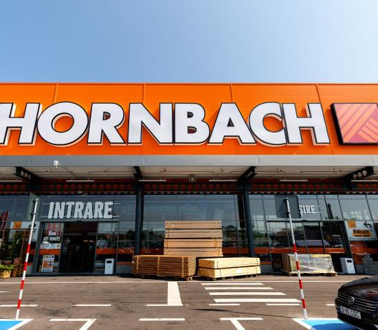 Cluj-Napoca ist der achte Standort von Hornbach in Rumänien.
