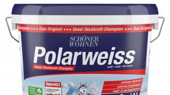 """""""Sehr gut"""" für Schöner Wohnen Polarweiss"""