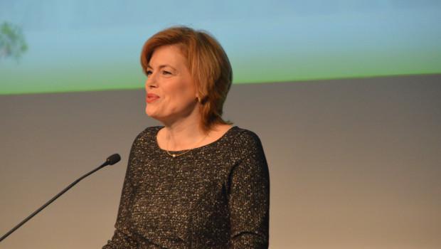 Viel Lob und Zuspruch erhielt der Verband Deutscher Garten-Center (VDG) gestern von Julia Klöckner (CDU).