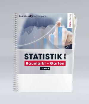 """Erscheint demnächst neu: die renommierte """"Statistik Baumarkt + Garten D-A-CH 2018"""" der diy-Fachredaktion des Dähne Verlags."""