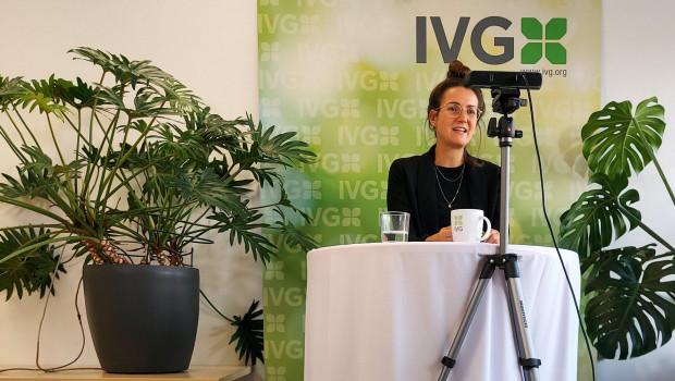 Das IVG-Forum Gartenmarkt hat Geschäftsführerin Anna Hackstein komplett aus dem Studio als Online-Kongress moderiert.