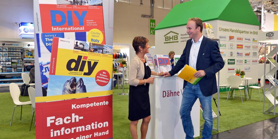 Dähne Verlag, Messestand