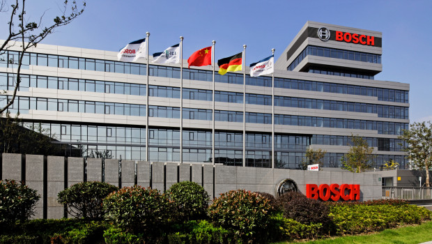 Die neue Bosch-Zentrale in Shanghai. Das Unternehmen ist seit 1909 in China präsent.