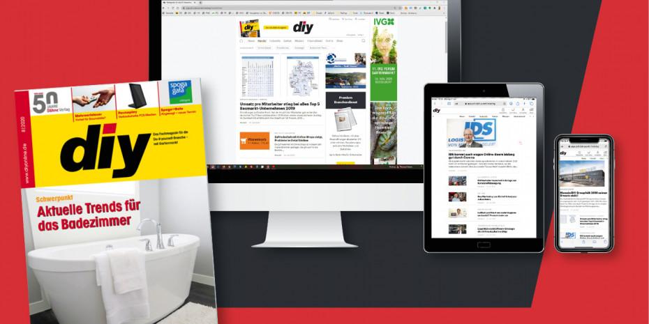 Unter www.diyonline.de/immer-dabei kann das neue Abo bis Ende 2020 kostenlos getestet werden.