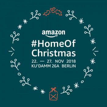 #HomeOfChristmas nennt Amazon seinen Pop-up-Store in Berlin.