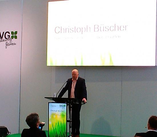 Gastgeber Christoph Büscher konnte Rekordteilnehmerzahlen vermelden.