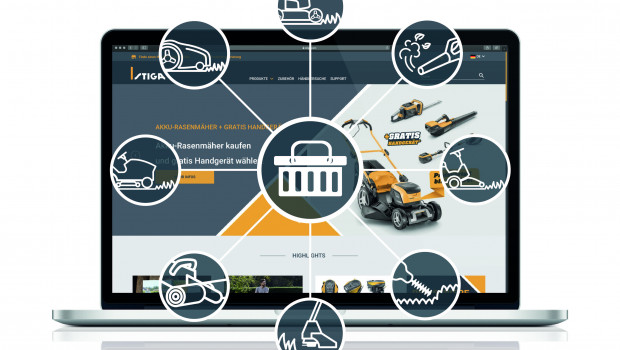 Mit seinem neuen Webshop will Stiga auf den Anspruch der Verbraucher reagieren, Produkte jederzeit und von überall aus sicher einzukaufen.